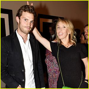 Sam Taylor (director) Jamie Dornan Steps Out to Support 39Fifty Shades39 Director