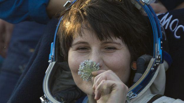 Samantha Cristoforetti ESA astronaut Samantha Cristoforetti back on Earth