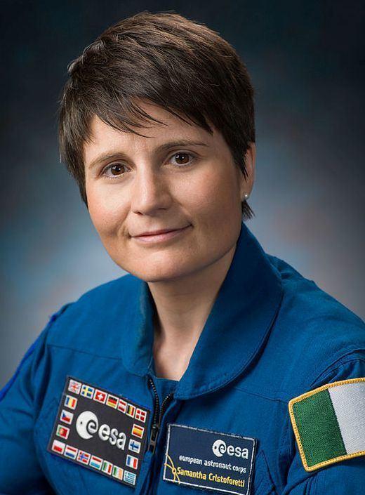 Samantha Cristoforetti Samantha Cristoforetti IZ0UDF NASA Robt Markowitzjpg