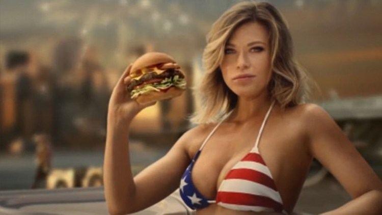 Samantha Hoopes New Carl39s Jr Commercial Samantha Hoopes In Tiny Bikini