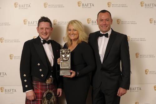 Samantha Poling ExTele journalist wins BAFTA From Greenock Telegraph