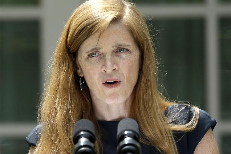 Samantha Power The key out of this mess is Samantha Power Saloncom