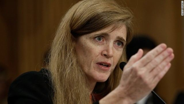 Samantha Power Power recalls 39monster39 comment working with Hillary