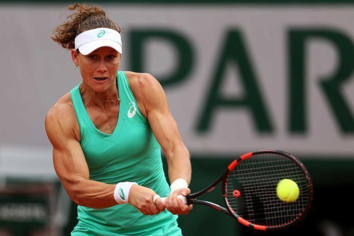 Samantha Stosur French Open Samantha Stosur loses to Maria Sharapova in