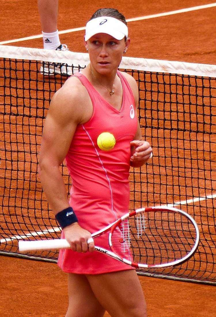 Samantha Stosur Sam Stosur is stronk tennis