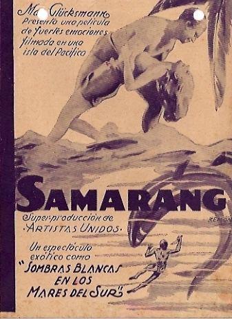 Samarang (film) SAMARANG MOVIE POSTER SAMARANG MOVIE POSTER