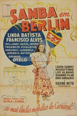 Samba in Berlin movie poster
