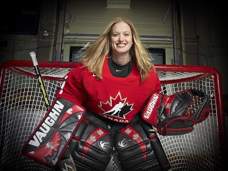 Sami Jo Small Sami Jo Small Motivational Speaker Canadian Hockey Goalie three