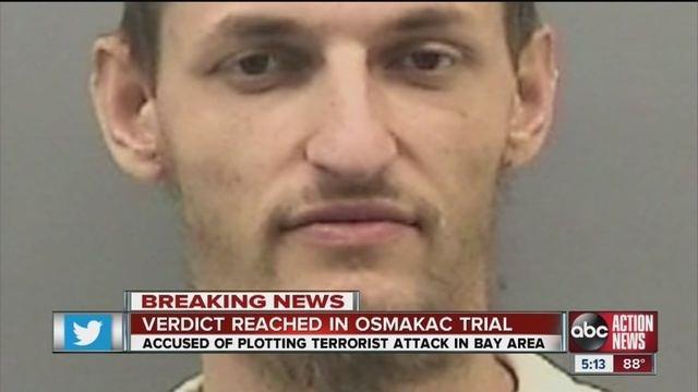 Sami Osmakac Tampa federal jury finds Sami Osmakac guilty on both
