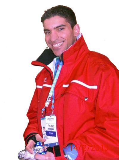 Samir Azzimani Ski de fond gt Un nouveau dfi pour Samir Azzimani Sotchi