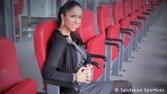 Samira Samii Ausnahmefrau in der Bundesliga Fuball DWCOM 19122013