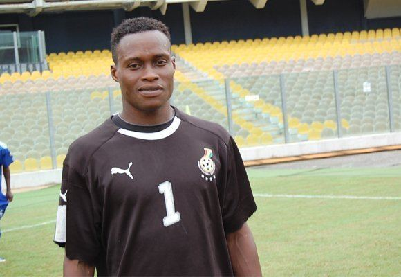 Sammy Adjei EX HEARTS GOALKEEPER SAMMY ADJEI NOW MANAGES PUBLIC LATRINE AT