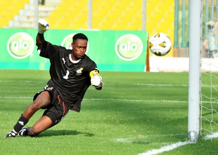 Sammy Adjei Former goal keeper Sammy Adjei now manages a public latrine in