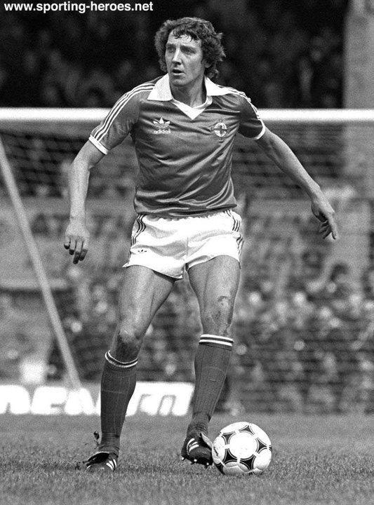 Sammy Nelson Sammy Nelson Northern Ireland Caps 197082 Northern