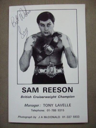 Sammy Reeson wwwchampsukcomproductsimages1718jpg