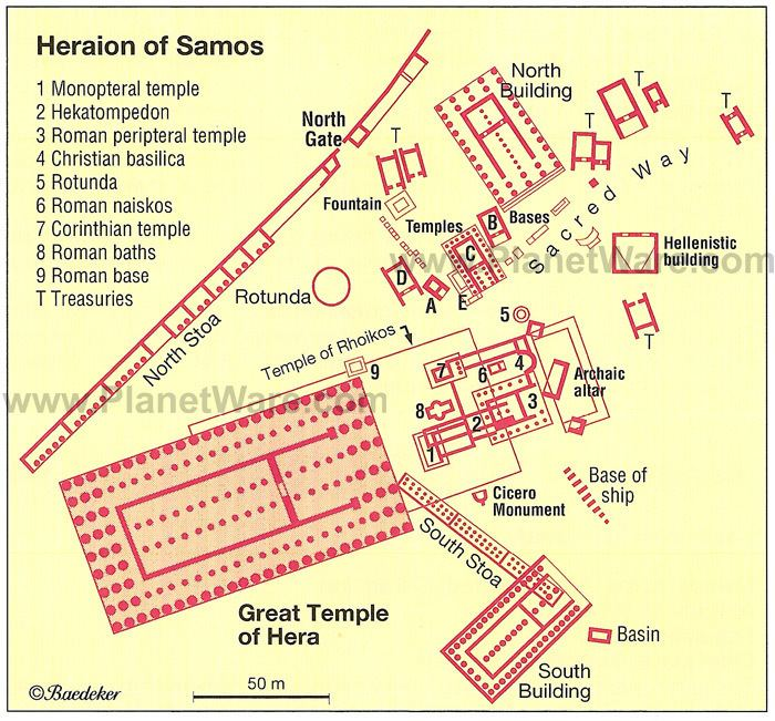 Samos in the past, History of Samos
