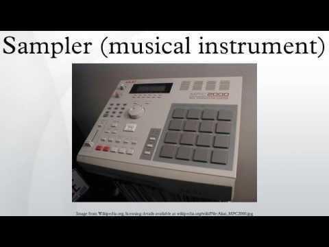 Sampler (musical instrument) Sampler musical instrument YouTube
