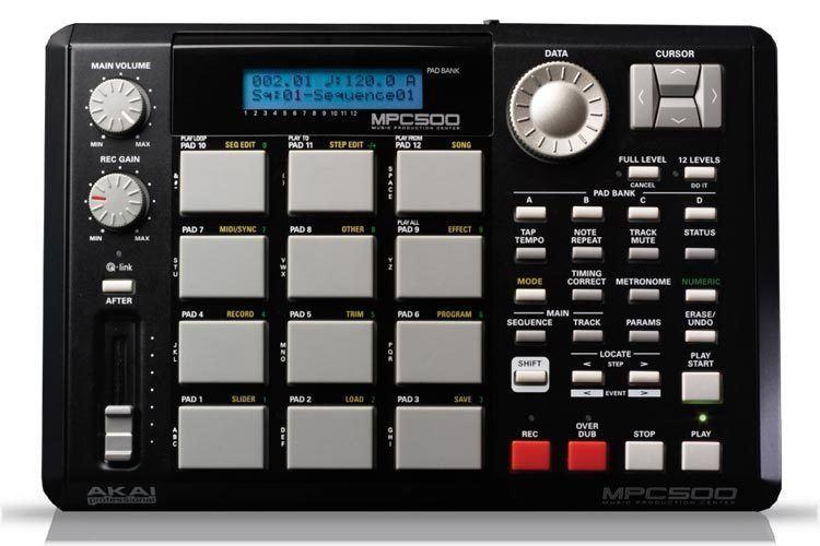 Sampler (musical instrument) Amazoncom Akai Professional MPC500 Portable Music Production
