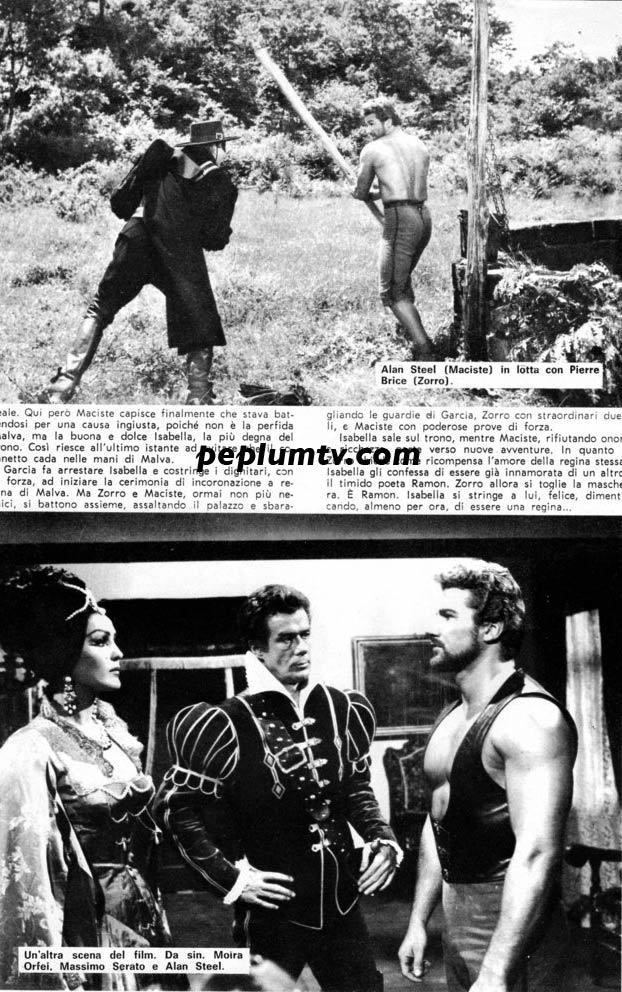 Samson and the Slave Queen PEPLUM Vintage article SAMSON THE SLAVE QUEEN