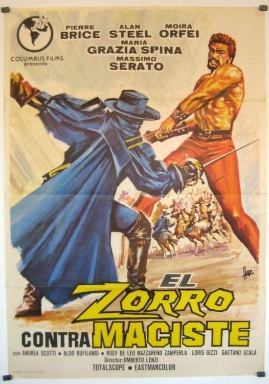 Samson and the Slave Queen SAMSON AND THE SLAVE QUEEN aka ZORRO CONTRO MACISTE dvd for sale