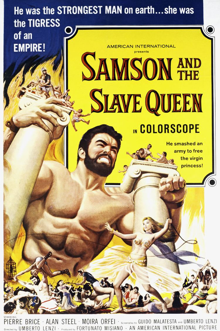 Samson and the Slave Queen wwwgstaticcomtvthumbmovieposters95351p95351