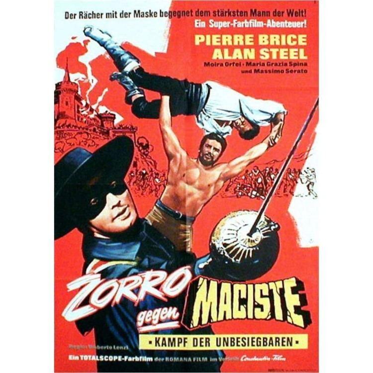 Samson and the Slave Queen Samson and The Slave Queen Zorro contro Maciste German Poster
