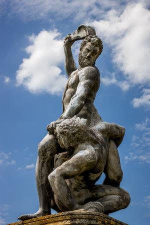 Samson Slaying a Philistine Samson slaying the Philistine after Giambologna 207395 National