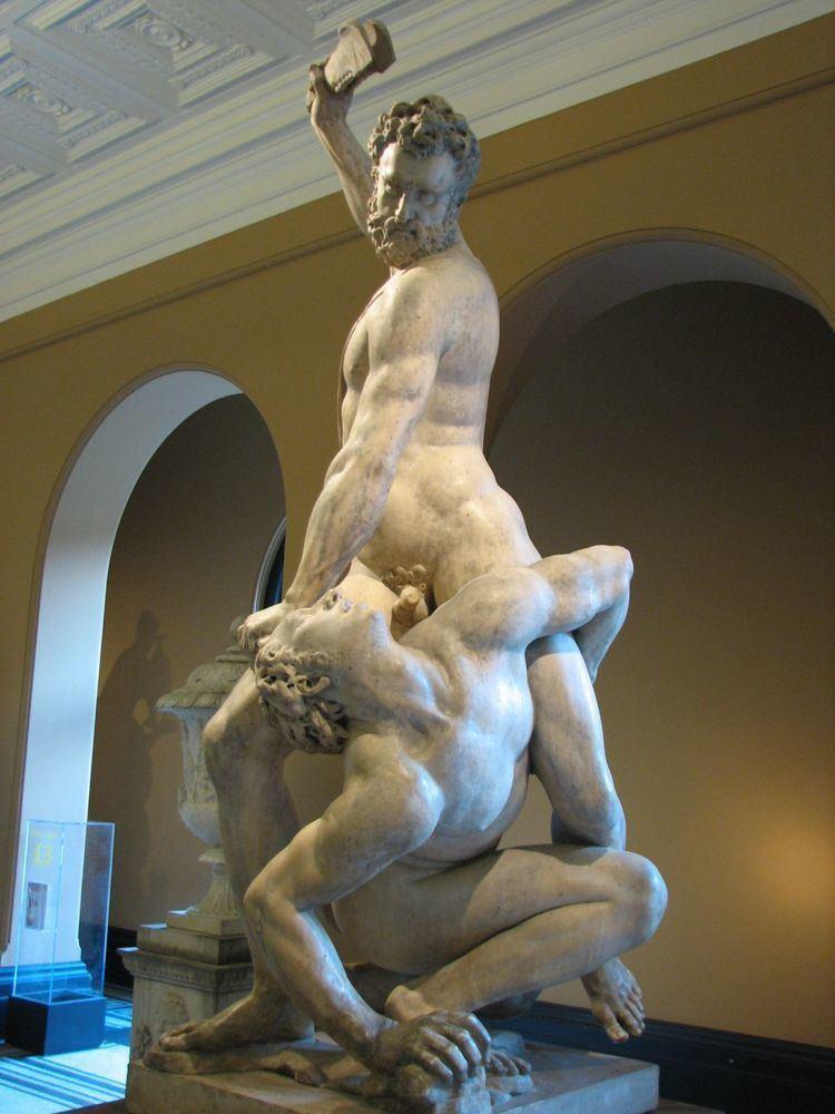 Samson Slaying a Philistine Giambologna 15291608 Samson Slaying a Philistine ca 1562