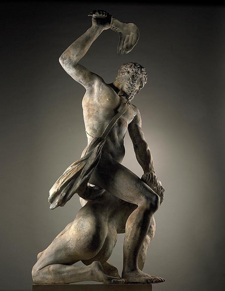 Samson Slaying a Philistine John Cheere London 17091787 Samson Slaying a Philistine after