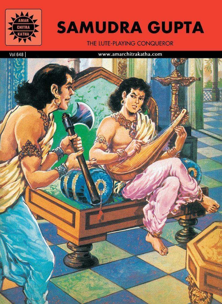 Samudragupta Buy Samudra Gupta Amar Chitra Katha Book Online at Low Prices in