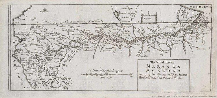 Samuel Fritz Biblioteca Digital de Cartografia Histrica