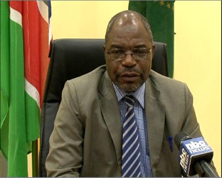 Samuel Mbambo Dr Samuel Mbambo nbcna Namibian Broadcasting Corporation