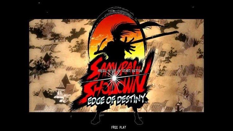 Samurai Shodown: Edge of Destiny Taito Type X2 Samurai Shodown Edge of Destiny Intro HD YouTube