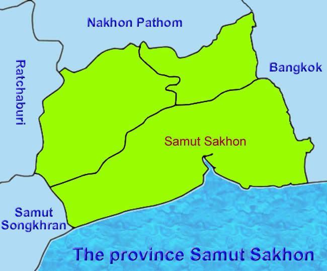 Samut Sakhon Province Beautiful Landscapes of Samut Sakhon Province