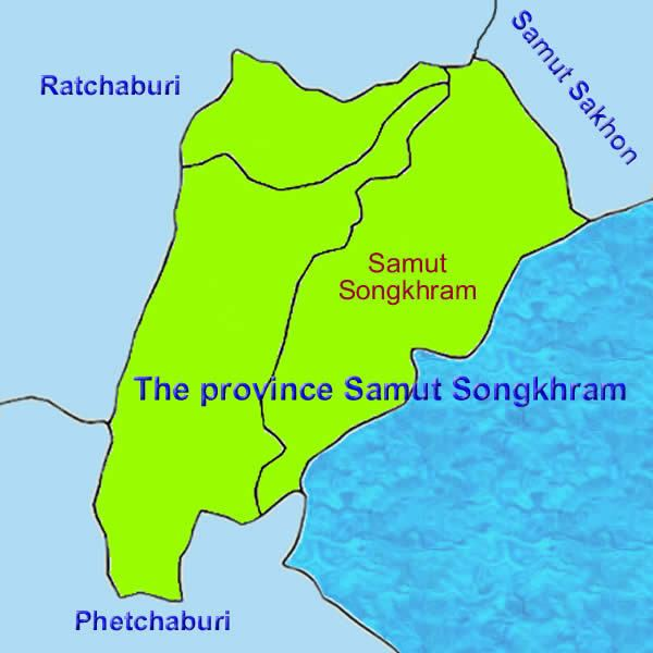 Samut Songkhram Province Tourist places in Samut Songkhram Province