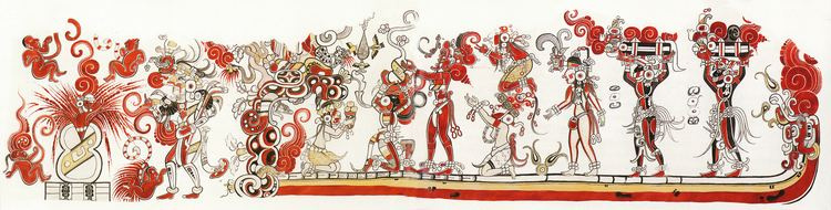 San Bartolo (Maya site) The painters of San Bartolo Guatemala enunciated Maya mythic
