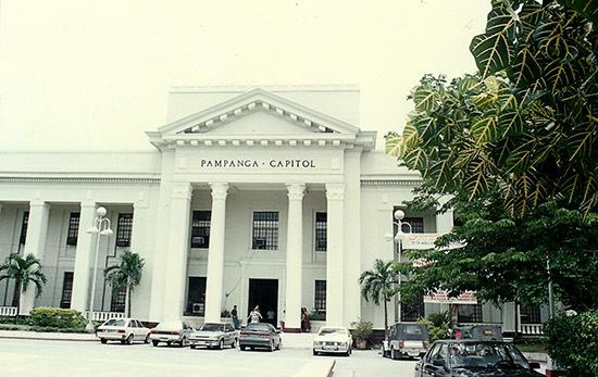 San Fernando, Pampanga in the past, History of San Fernando, Pampanga