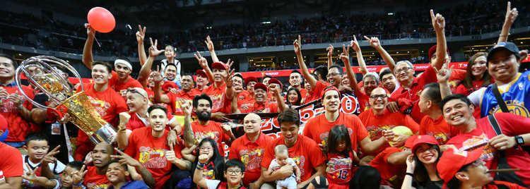 San Miguel Beermen San Miguel makes history wins PBA Philippine Cup title