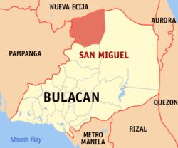 San Miguel, Bulacan San Miguel Bulacan Wikipedia
