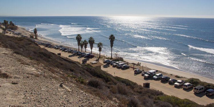 San Onofre State Beach - Alchetron, The Free Social Encyclopedia on doheny sb campground map, doheny state beach camping map, doheny campsite map, mueller state park campground map,