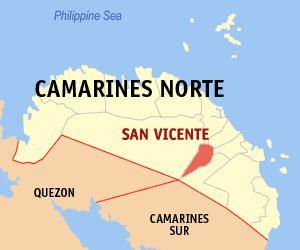 San Vicente, Camarines Norte