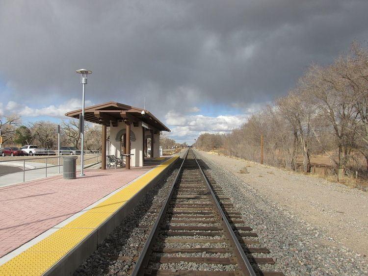 Sandia Pueblo (Rail Runner station)