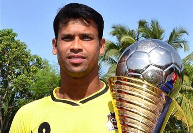 Sandip Nandy Sandip Nandy pleased to be adjudged as the best goalkeeper
