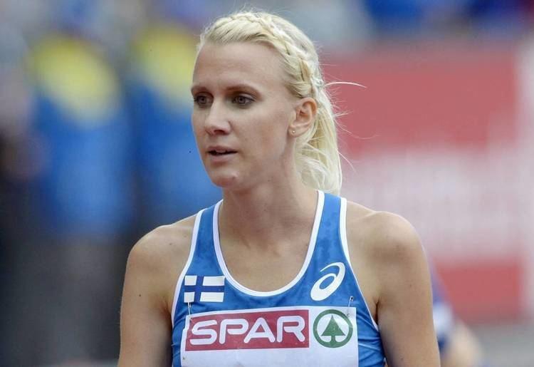 Sandra Eriksson Sandra Eriksson ja keihsmiehet EMkisojen supersunnuntai Yle