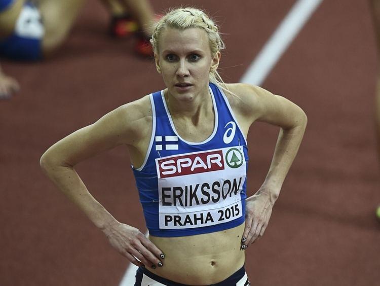 Sandra Eriksson Sandra Eriksson kotiutui hyppjien ryhmn Yleisurheilu