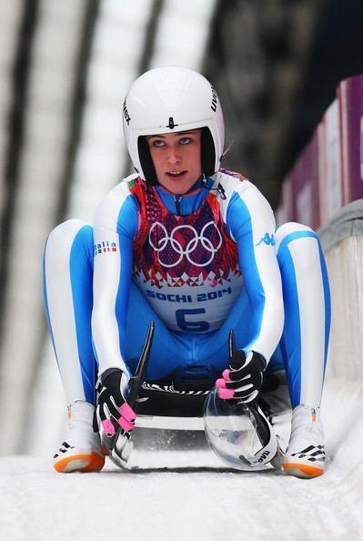 Sandra Gasparini Sandra Gasparini Photos Luge Winter Olympics Day 4