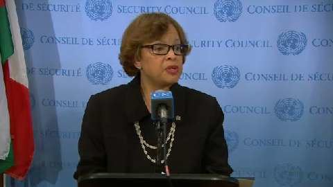 Sandra Honoré UN Live United Nations Web TV Sandra Honor MINUSTAH on the