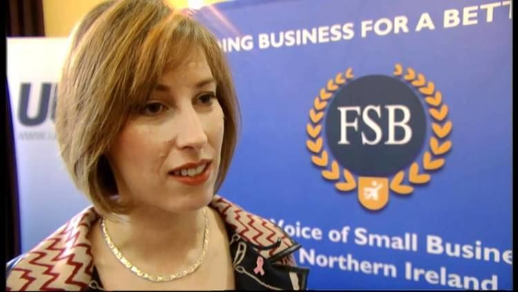 Sandra Overend Sandra Overend discusses the economy with the Federation