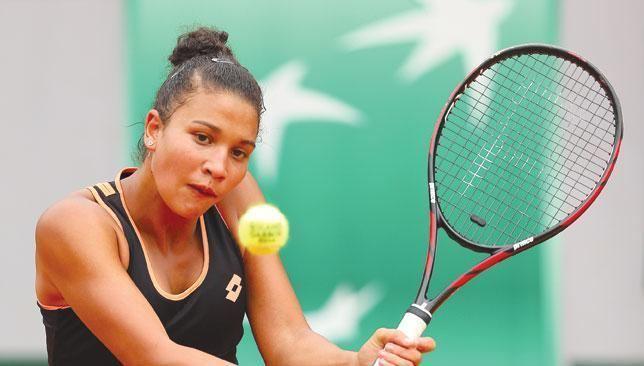 Sandra Samir Egyptian junior Sandra Samir happy to develop at a steady pace