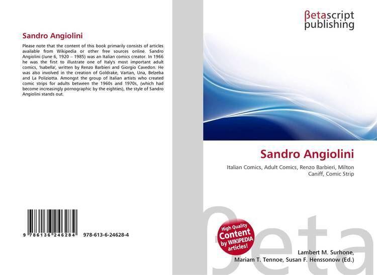 Sandro Angiolini Sandro Angiolini 9786136246284 6136246287 9786136246284